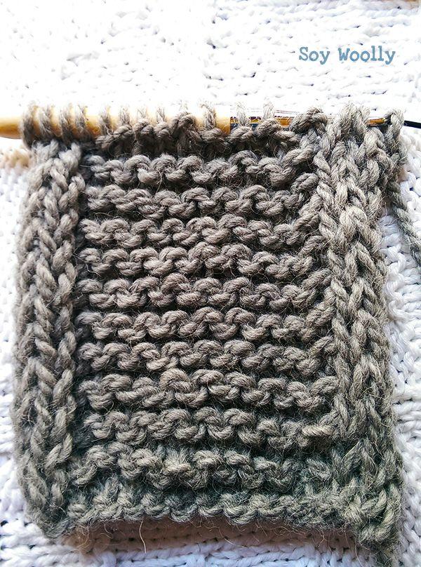 Cómo tejer un cordón en los bordes de la labor: bordes de cordón ...