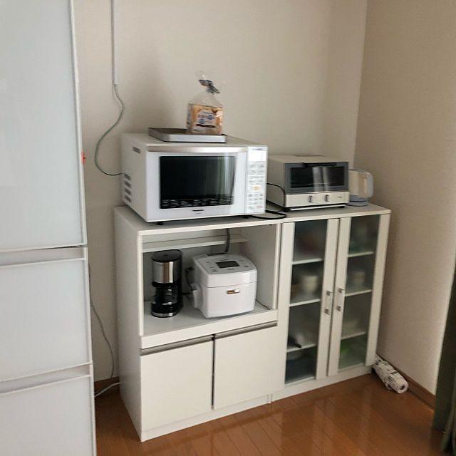 棚 食器棚 賃貸 2ldk ニトリ などのインテリア実例 2018 06 27 22