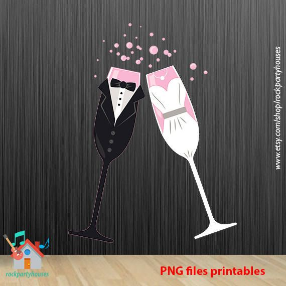 CUPS WEDDINGS png svg jpg printables files