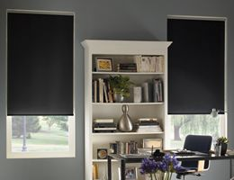 """Blackout Bedroom Blinds Amusing Twilight Blackout Roller Shades Pearl 3475""""x 515"""" $103Each Inspiration"""