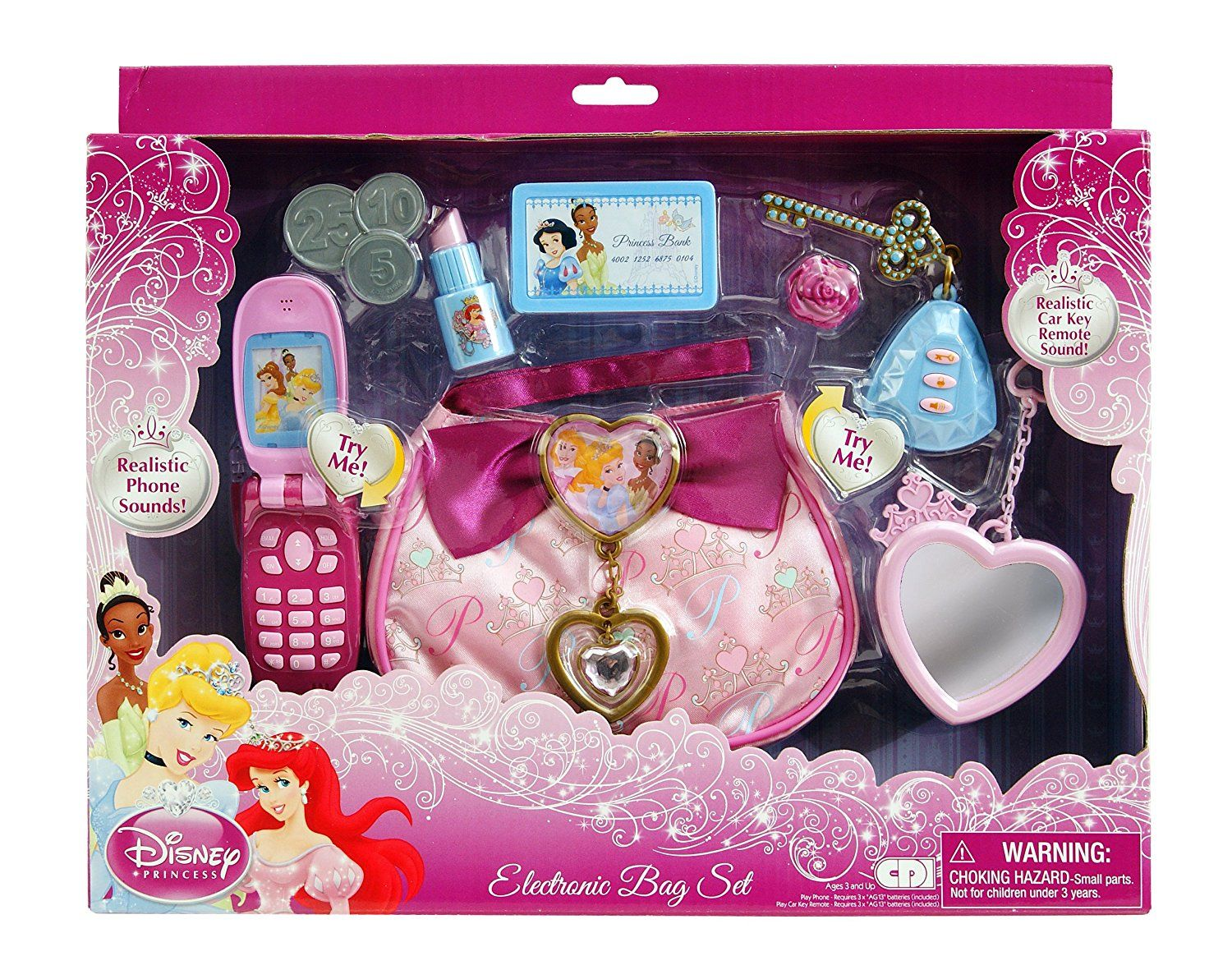 Disney princess coloring vanity case - Disney Princess Electronic Bag Set By Disney Princess