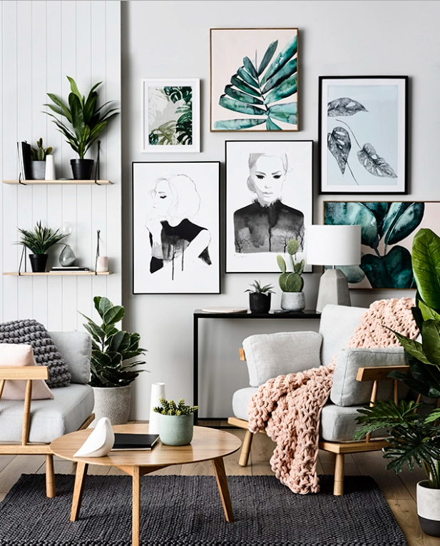 How To Buy Art Online And Great Ideas For Displaying It In