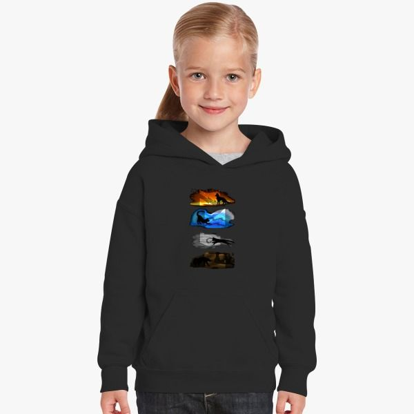 b364c163a64c Warrior Cats Four Elements, Four Clans Kids Hoodie comes from our animals &  nature design category with Customon high quality. You can have it in  different ...