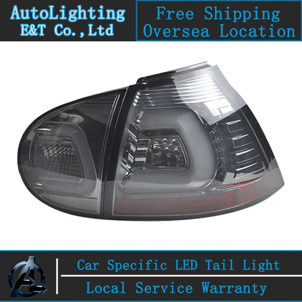 Auto Lighting Style Led Tail Lamp For Vw Golf 5 Led Tail Light 2004 2008 Golf5 Rear Trunk Lamp Cover Drl Signal Brake Rev Lamp Cover Tail Light Led Tail Lights