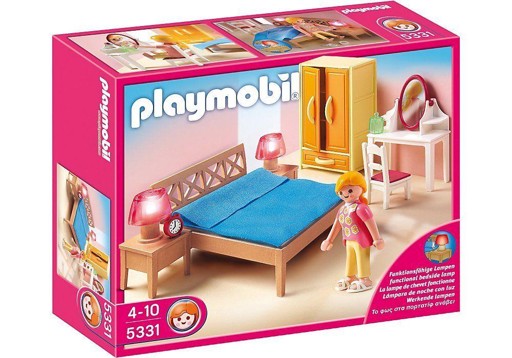 playmobil parents bedroom parents
