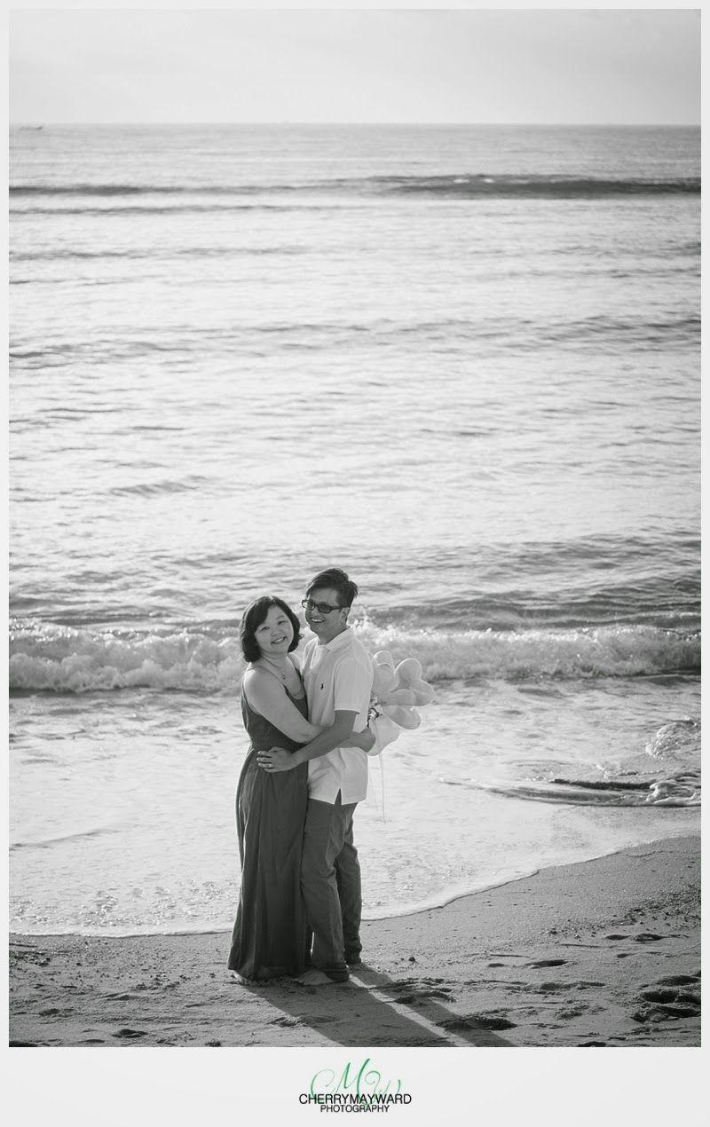 Sunrise beach wedding   year wedding anniversary on Koh Samui Sunrise on the beach
