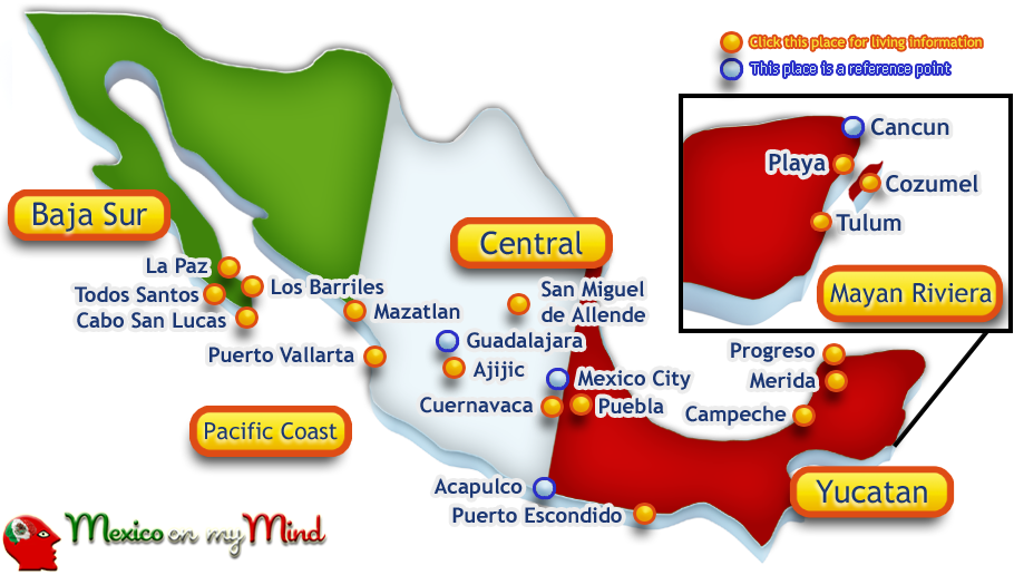 18 Places To Live In Mexico Where To Live In Mexico Living In Mexico Best Places To Live Mexico