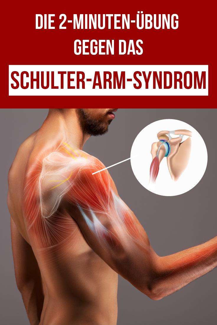 Wenn du unter dem Schulter-Arm-Syndrom leidest, gibt es nichts Besseres als diese Übung! Alles, was du dafür brauchst, ist eine Wand und zwei Minuten Zeit für jeden Arm. Außerdem verraten wir dir einen ganz besonderen Trick: Wenn du einen bestimmten Punkt an deinem Körper drückst, kannst du deine Schulter- und Arm-Schmerzen sofort reduzieren.   #schulterschmerzen #armschmerzen #schulterarmsyndrom