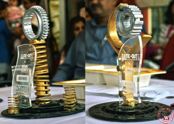 Handmade Trophies From Recycled Car Parts | Trophies | Car ...
