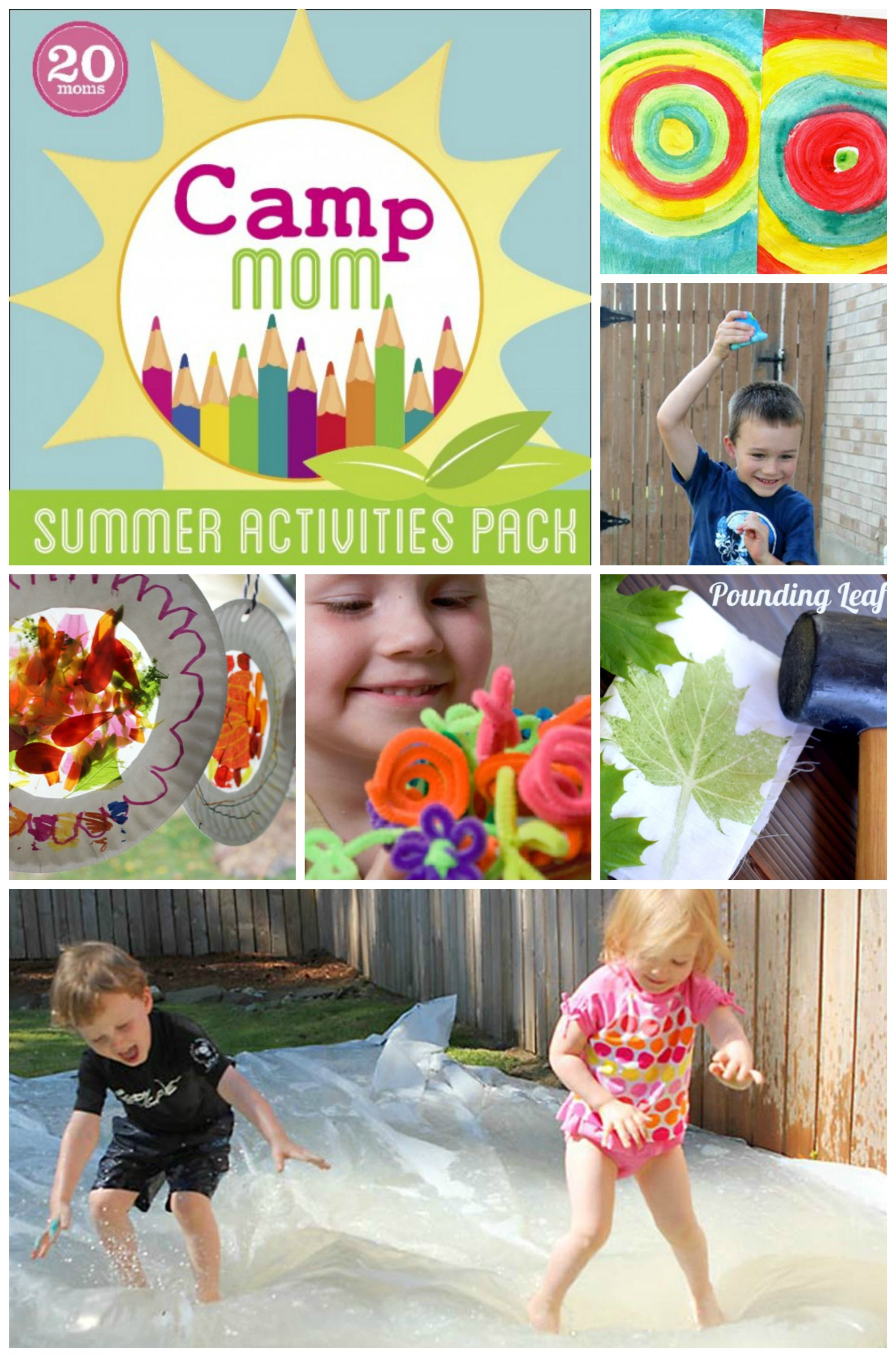 Activities to Keep Kids Busy When Mom is Sick