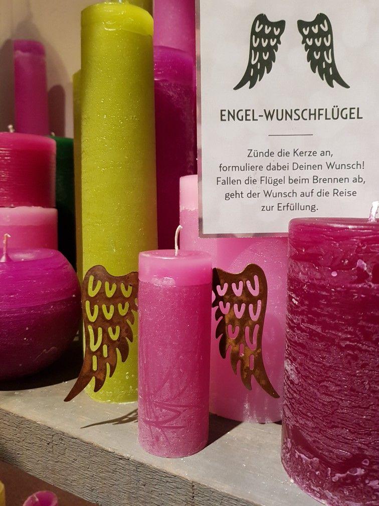 Engel Wunschflugel Kerze Geschenke Deko Hochwertig