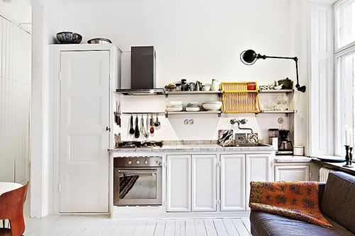 Open Kleine Keuken : Kleine woonkamer met open keuken for the kitchen