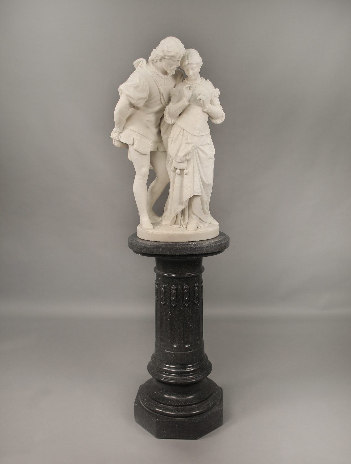 A Fantastic Late 19th Century Italian White Carrara Marble Entitled Paolo And Francesca By Pasquale Romanelli Charles Cheriff Galleries In 2020 Carrara Carrara Marble Marble Sculpture