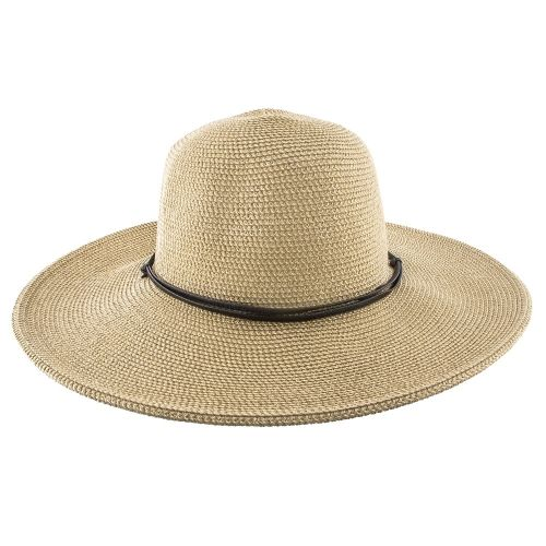 c612355aa Wider - Jeanne Simmons Cotton Toyo Straw Wide Brim Hat - 8501 ...