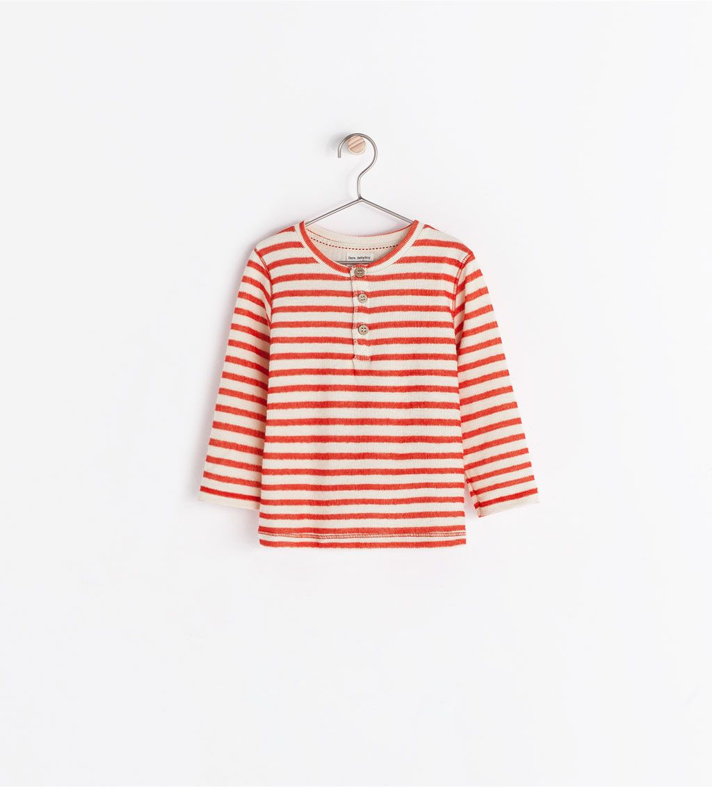 Image 1 of STRIPED T-SHIRT from Zara