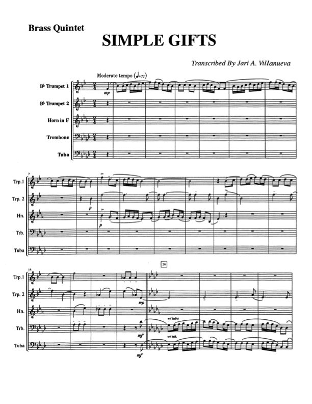 All Music Chords brass choir sheet music : Icon American melody set to brass instruments | Musical ...