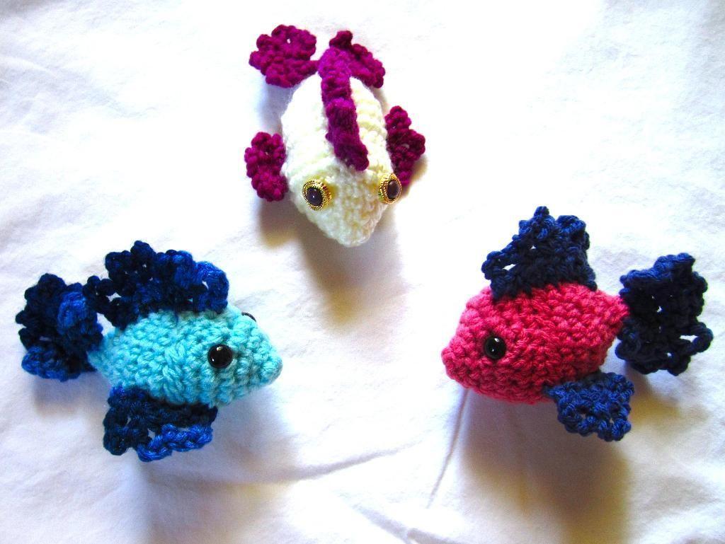 Fish Amigurumi | Amigurimi and Crochet Toys | Pinterest