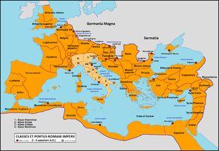 Römisches Reich Ausdehnung