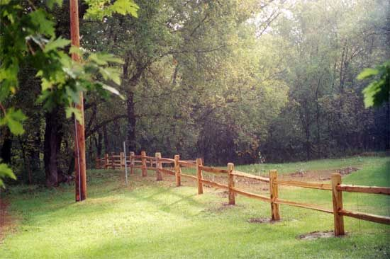 Split Rail Fence, I Want This In My Front Yard !