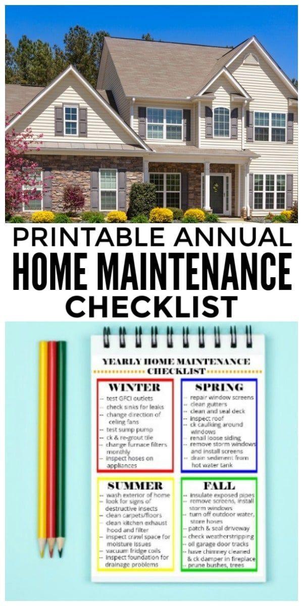 Photo of Checkliste für die jährliche Wartung des Hauses