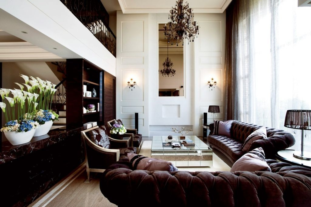 high ceiling decorating ideas for living room with images