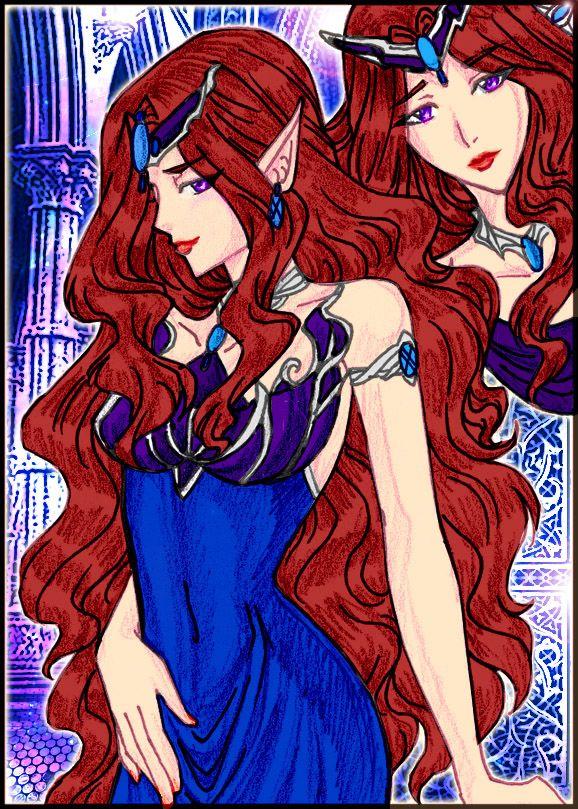Queen Beryl Art style 5 by justinedarkchylde.deviantart ...