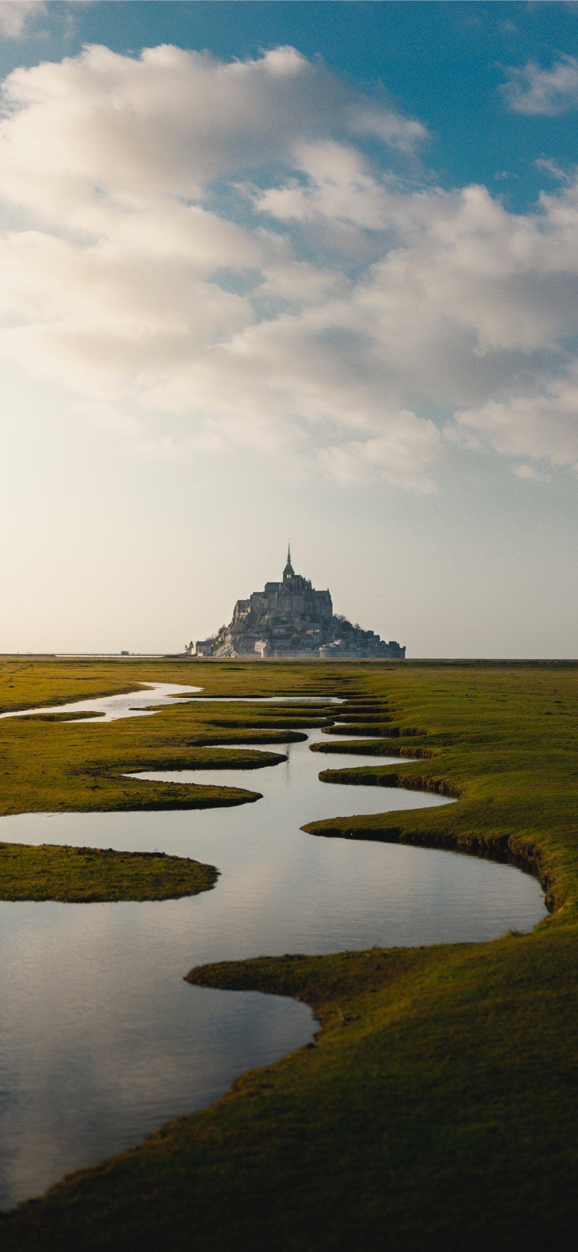 Free download the Mont Saint Michel France wallpaper