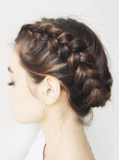 70 Cute French Braid Hairstyles When You Want To Try Something New Be Trendsetter Braided Hairstyles For Wedding Hair Styles Braids For Short Hair