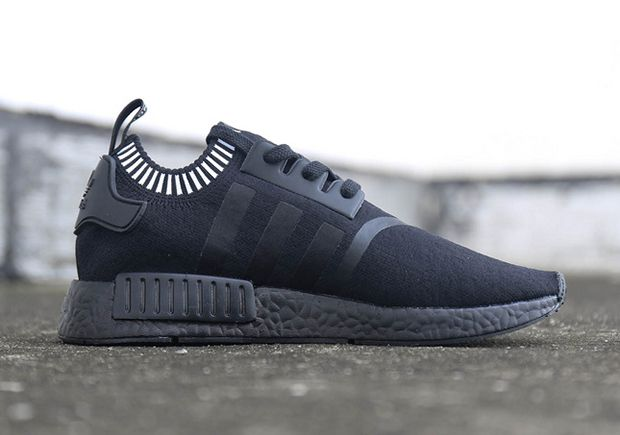 adidas NMD R1 Primeknit Japan Triple Black Releasing Soon - Learn More  about this amazing Sneakers