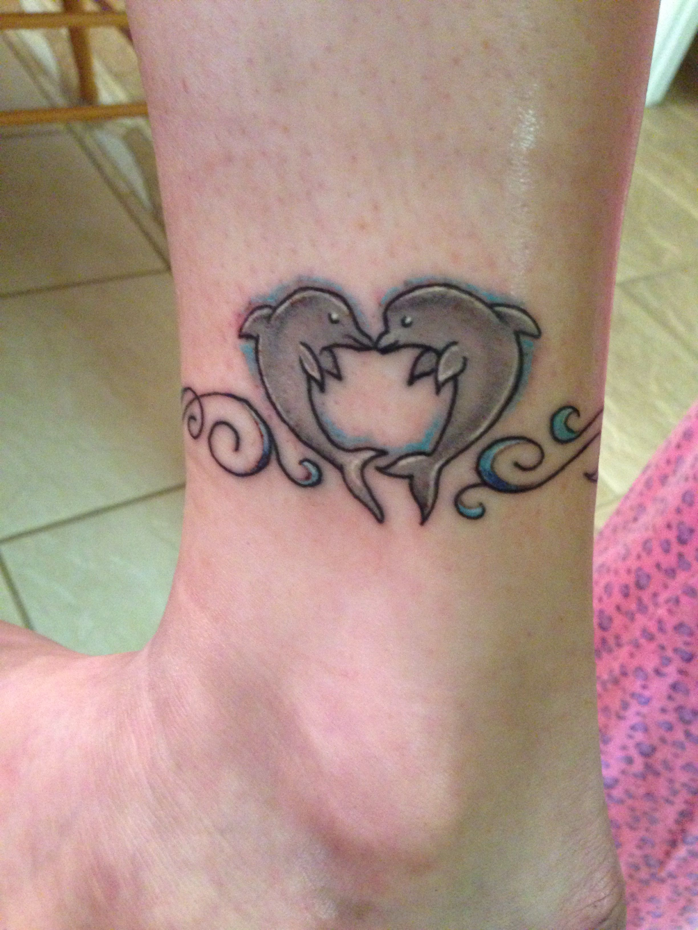 Dolphin Ankle Tattoo Dolphins Tattoo Ankle Tattoo Tattoos