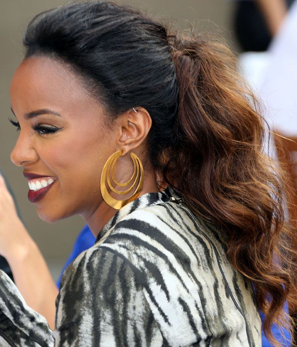 8 Sexy Styles For Your Curls Celebrities Pinterest Famous