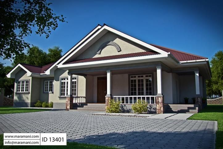3 Bedroom House Plan ID