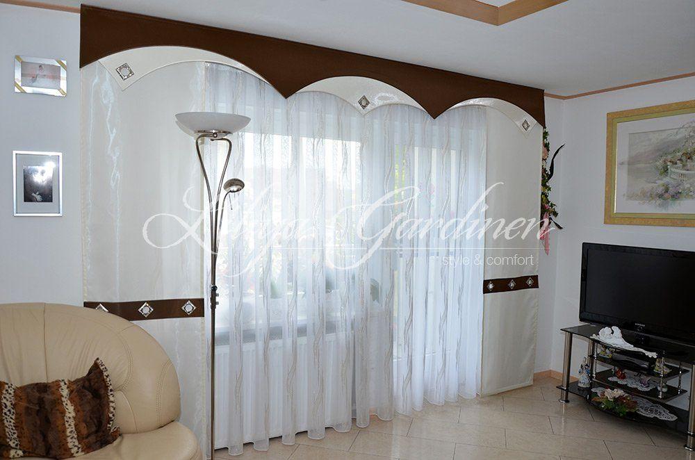 wohnzimmer gardinen liliya home decor. Black Bedroom Furniture Sets. Home Design Ideas