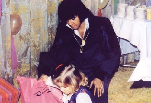 Lisa Marie and Elvis