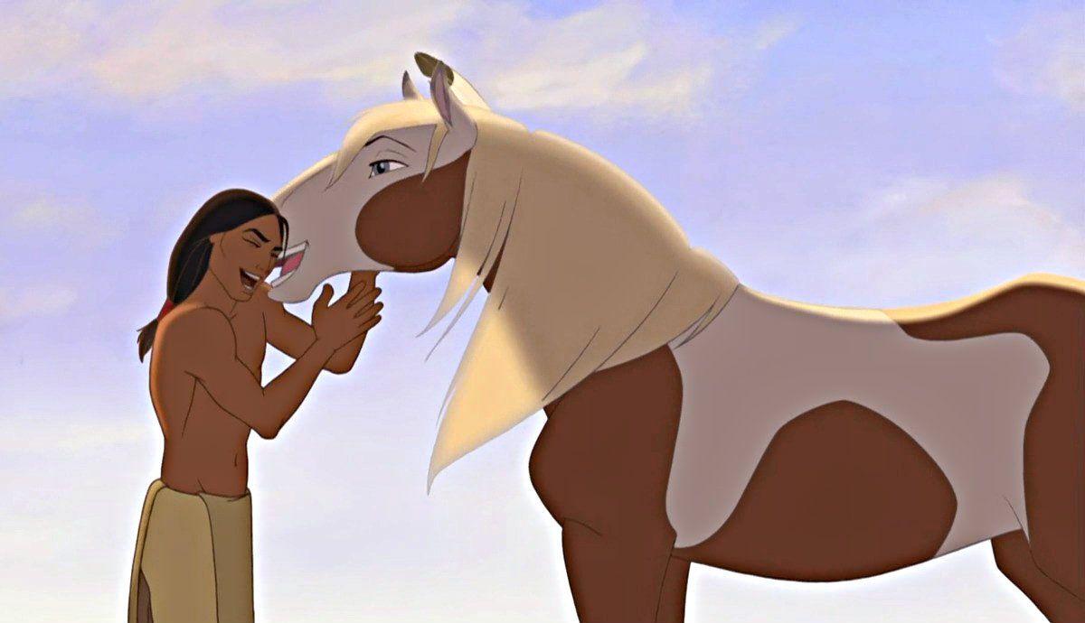 Spirit Stallion Of The Cimarron Throwback Movies Horse