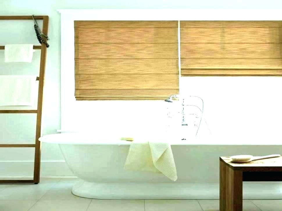 Waterproof Shower Window Curtain Bathroom Window Curtains Windows