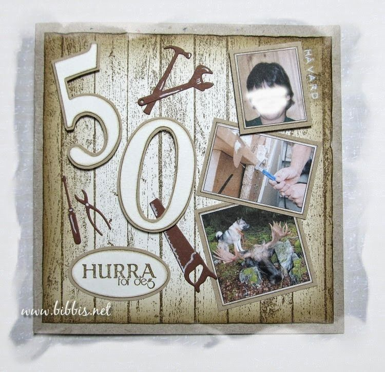 Bibbi's: 50 års kort