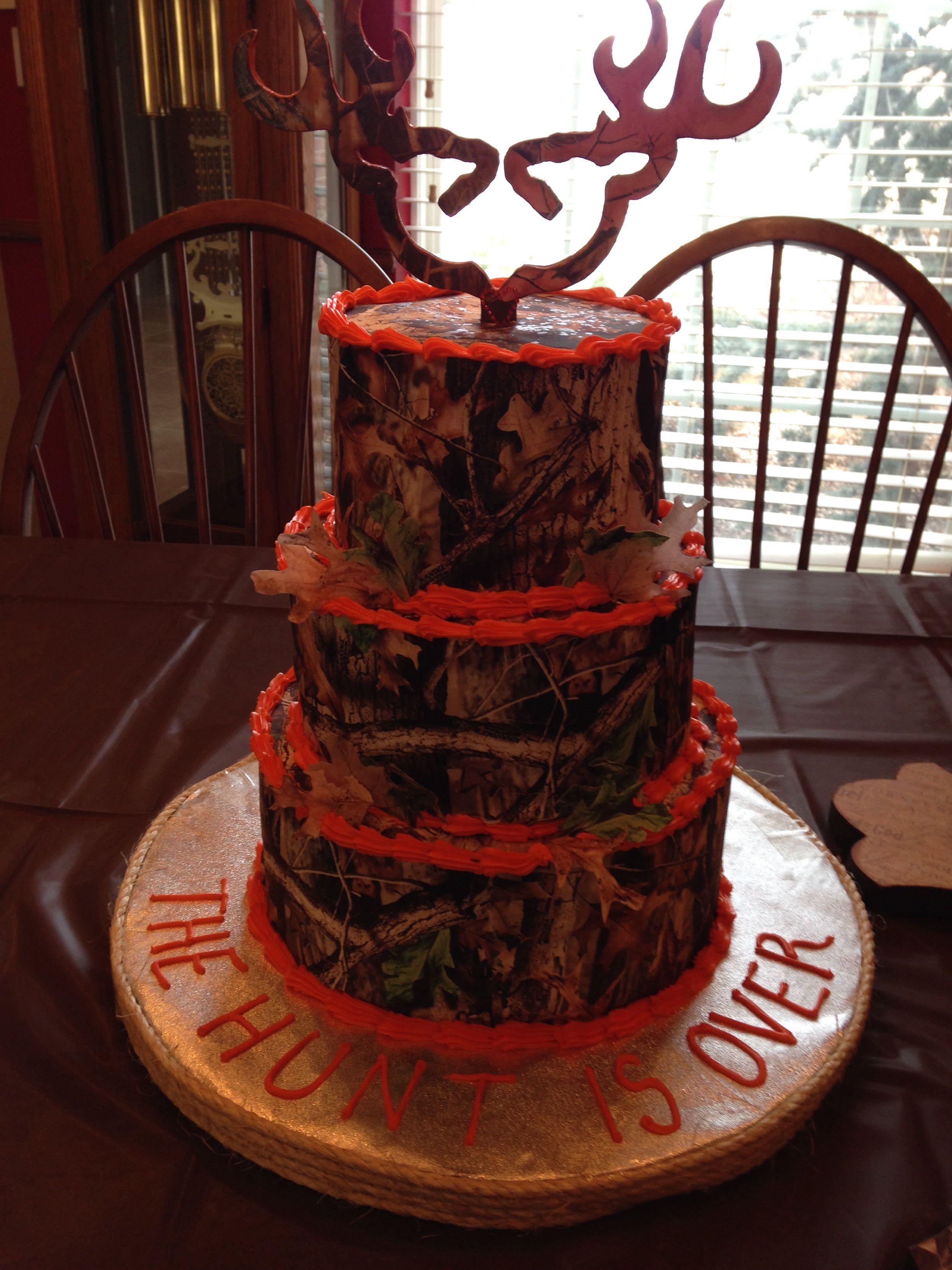 Realtree Wedding Cake Future Wedding 3 Pinterest Wedding