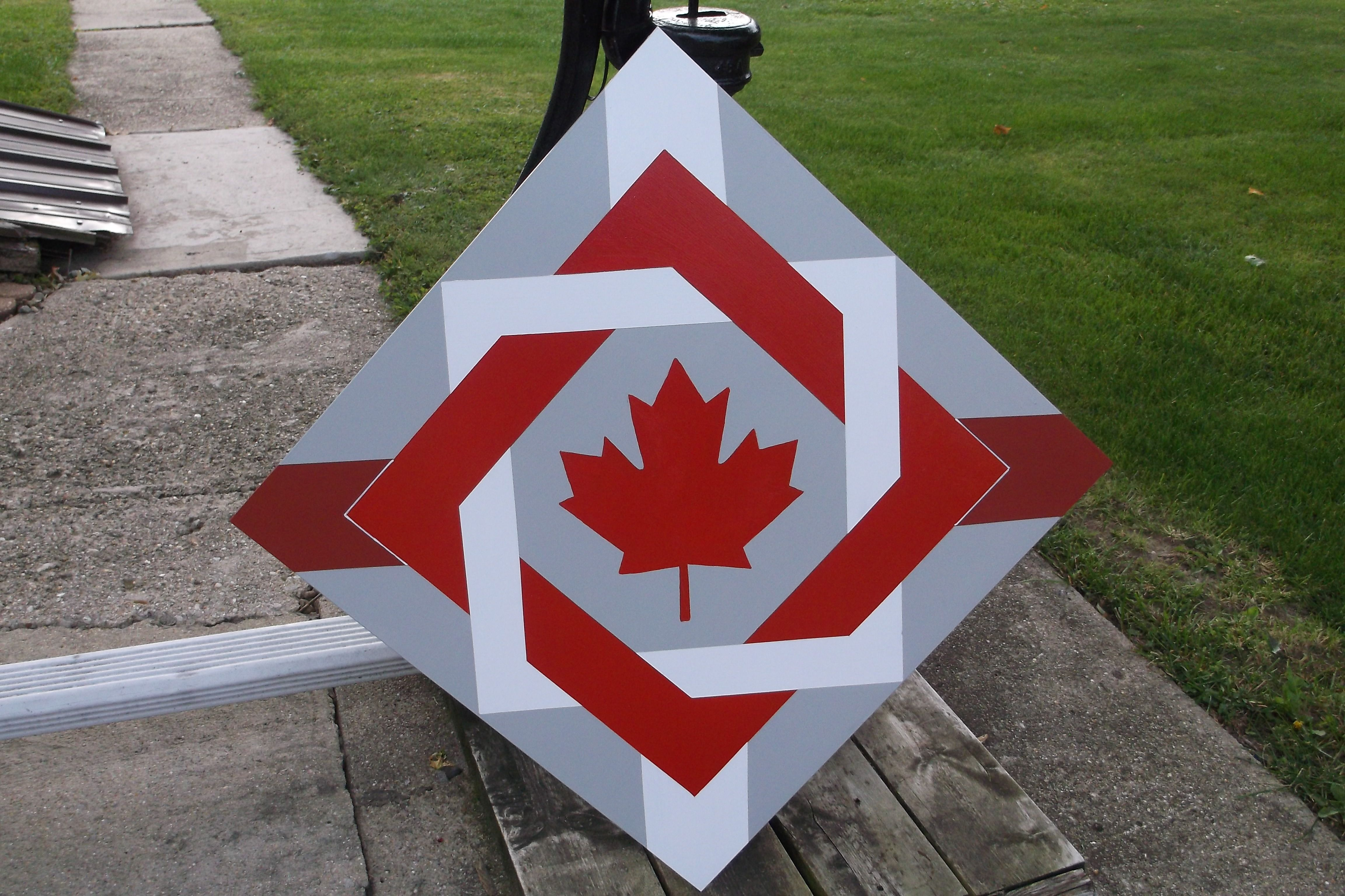 This One Is For My Dear Friend In Canada Quilts Canada Painted