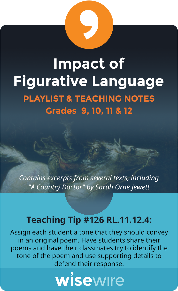 In this playlist, students explore standard RI.11-12.4. They will analyze how an author's choices about language shape a text. Students will learn …