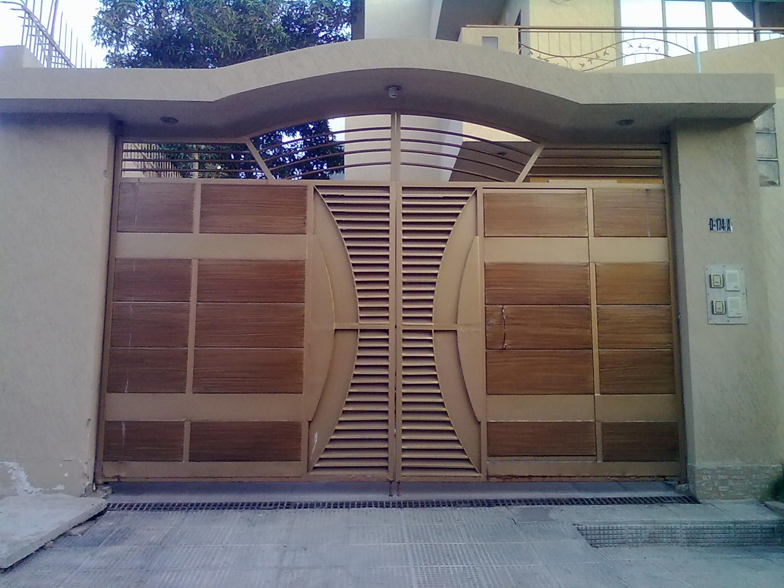 Unique Home Gate Design 6