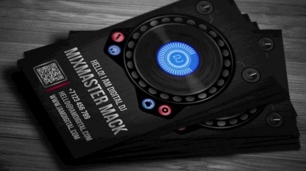 Unique DJ Business Cards Ideas Business Card Pinterest Dj