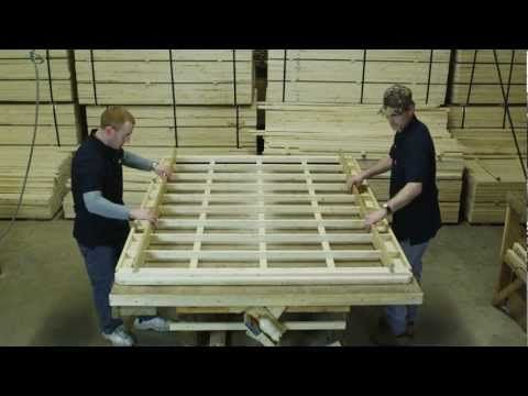 Crafting A Capitol Bedding Box Spring And Mattress Youtube