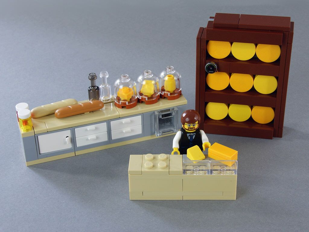 LEGO Modular Building Cheese Shop And Museum