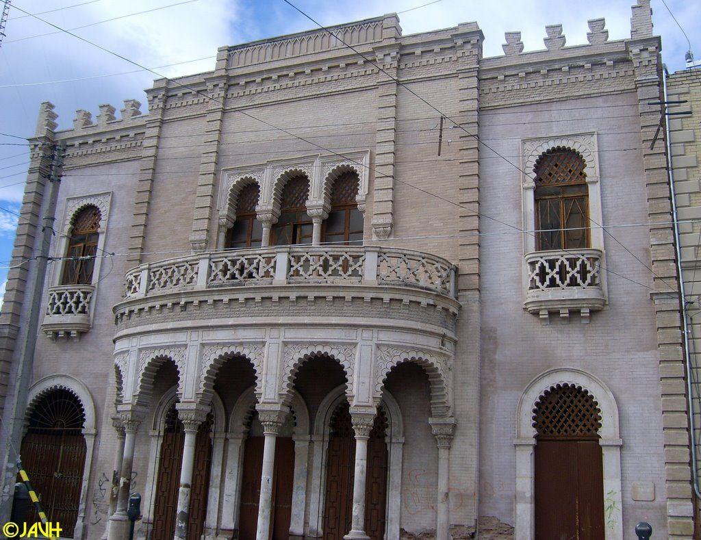Casa Mud Jar In Torre N Coahuila Casa De Estilo Rabe Islamic  # Muebles Mudejar