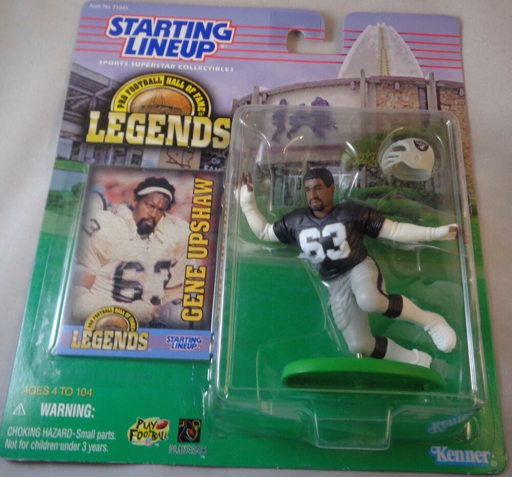 Starting Lineup 1994 NFL Nick Lowery figurine and card