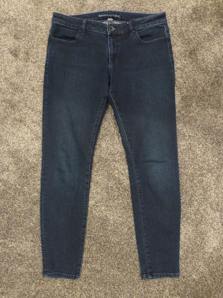 BANANA REPUBLIC Skinny Stretch Denim Leggings Jeans Jeggings 30 #BananaRepublic