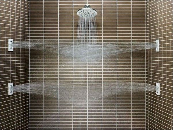 Multiple Shower Head Systems