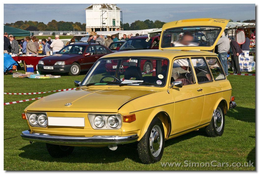 Volkswagen 411 Le Texas Yellow 1:43 400051104 MINICHAMPS diecast ...