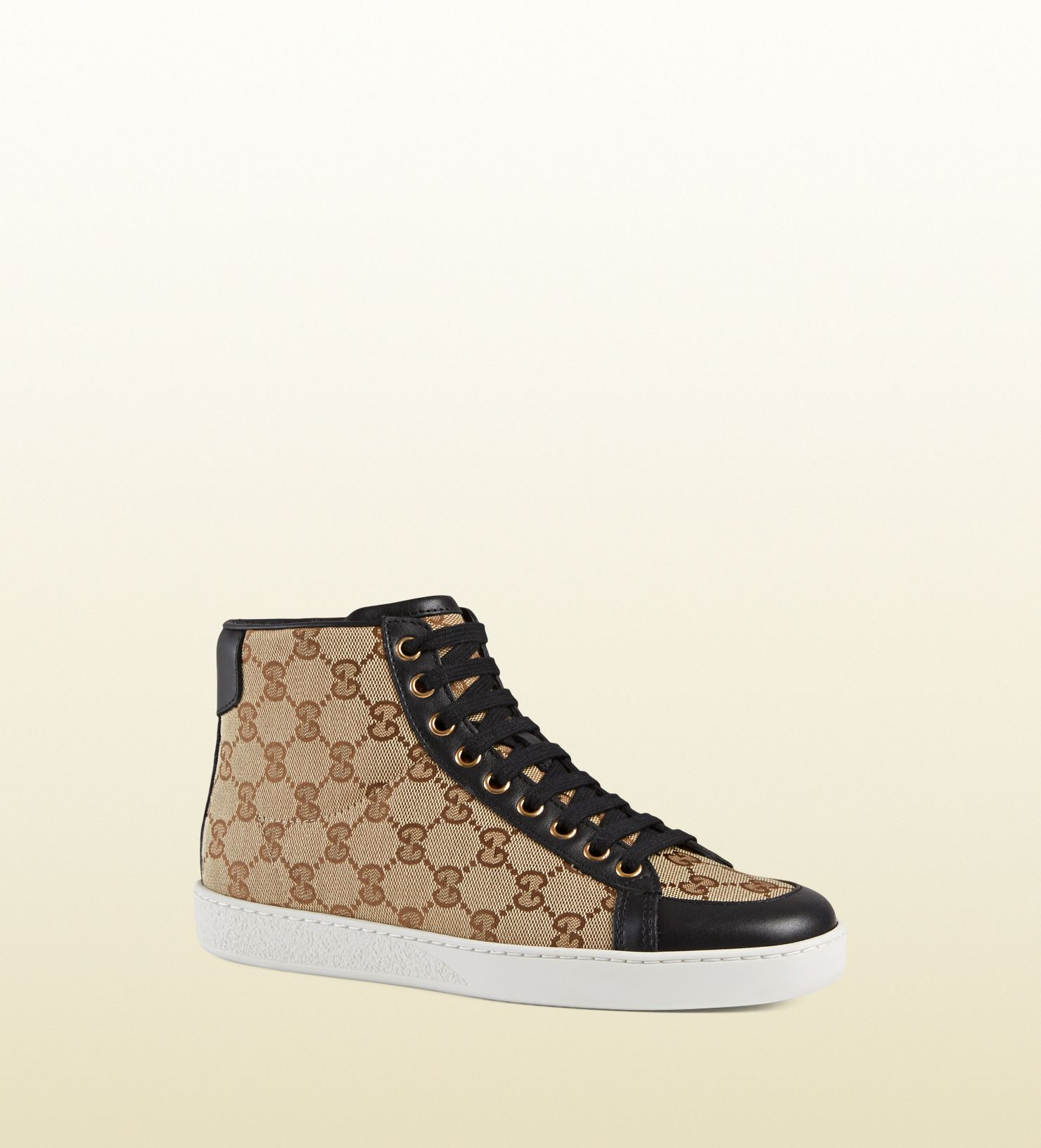 66540fb8d Gucci brooklyn original GG canvas high-top sneaker GUCCI® Official Site |  Explore the
